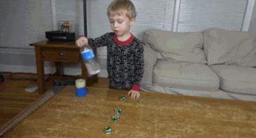 아이의 손기술