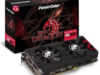 디앤디컴 '파워칼라 RX 570 OC D5 4GB 레드드래곤 백플레이트' 출시