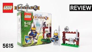 레고 캐슬 5615 용감한 기사(LEGO Castle The Knight)  리뷰_Review_레고매니아_LEGO Mania