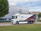 벤츠 e악트로스, 주행 테스트에서 4톤 이상 짐 싣고 매일 300km 주행