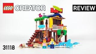 레고 크리에이터 31118 서핑 비치하우스(LEGO Creator 3in1 Surfer Beach House)  리뷰_Review_레고매니아_LEGO Mania