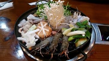 [먹거리 소개# 215] 전주 한옥마을 인근에서 먹은 온몸을 따뜻하게 데워주는 불낙전골