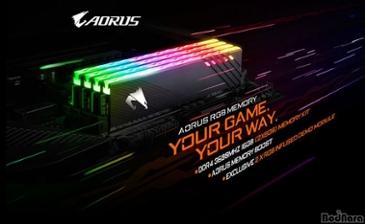기가바이트, AORUS RGB 메모리 16GB 3600MHz 출시