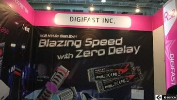 [지스타 2019] M.2 SSD 도킹 베이스, RGB NVMe SSD 등, 눈길가는 브랜드 Digifast