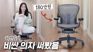 구글/애플/카카오에서 쓴다는 '그 의자' 비싼 만큼 좋을까? [호기심리뷰]