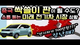 """소름 돋는 미래 전기차 시장 상황 """"중국 싹쓸이 판이 될 수도?"""" 전기차가 500만원? 지금 장난하냐?"""