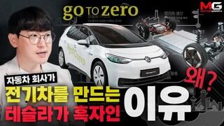 자동차 회사는 왜 전기차를 만들까요? 테슬라는 어떻게 흑자가 됐을까요? 왜 수소차가 아니라 전기차일까요?