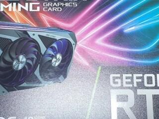 ASUS ROG STRIX 지포스 RTX 3080 O10G GAMING OC D6X 10GB 사용기