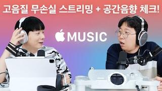 애플뮤직 고음질 무손실 스트리밍 + 공간음향 체크! (feat. Chord Dave / Susvara / 에어팟맥스)