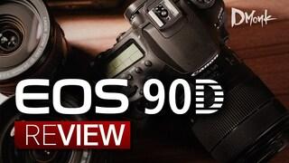 캐논이 잘했어요. 4K 크롭 없는 DSLR, 캐논 EOS 90D 리뷰