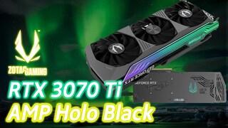 지금 가장 핫한 그래픽카드! 조텍 RTX 3070 Ti AMP Holo Black 그래픽카드 간단 리뷰 및 성능!