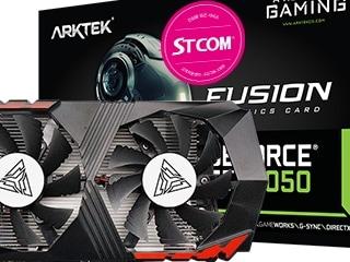 STCOM, 성능과 안정성 모두 만족! ARKTEK 지포스 GTX 1050 그래픽카드 출시
