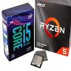 인텔과 AMD의 대표 라인업 성능대결,코어 i5-9600KF vs 라이젠 R5 3600