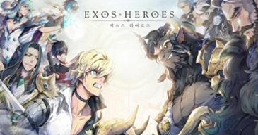 [리뷰] 새롭게 등장한 수집형 RPG의 수작 '엑소스 히어로즈'