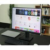 케이블 하나로 '맥북' 충전과 화면 출력까지...28인치 4K 모니터 주연테크 'V28UE-M'