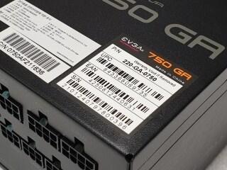 풀모듈러 파워서플라이 이엠텍 EVGA SUPERNOVA 750 GA 80PLUS GOLD 파워