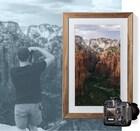 아날로그와 디지털의 미묘한 감성을 느낄 수 있는 디지털 캔버스, 넷기어 뮤럴 (Meural)