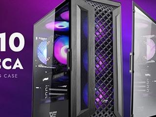 다크플래쉬, 도어형 측면 강화유리 적용한 PC케이스 DK510 ALPHECCA 출시!