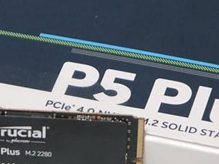 SSD 추천, 게이머와 영상편집자를 위한 PCIe 4.0 마이크론 Crucial P5 Plus M.2 NVMe