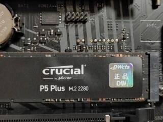 SSD 추천 마이크론 Crucial P5 Plus M.2 NVme(500GB) PCLe 4.0 SSD