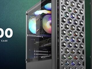 투웨이, 헥사곤 패턴 보급형 미들 타워 PC케이스 'darkFlash DK300' 출시!