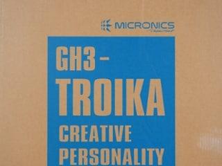 마이크로닉스 GH3-TROIKA 강화유리 컴퓨터 케이스