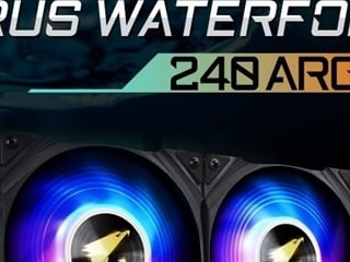 제이씨현, 기가바이트 CPU 수냉쿨러  AORUS 워터포스 ARGB 시리즈 출시!