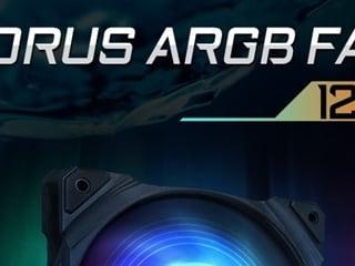 제이씨현, 기가바이트 시스템 쿨러  AORUS ARGB FAN 120/140 출시!