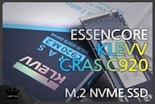 가성비 NVMe SSD 추천 ESSENCORE KLEVV CRAS C920 M.2 NVMe 2TB