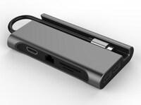 마이크로닉스, 8 in 1 멀티 허브 USB Type C 8 in 1 멀티포트 'OT-709' 출시