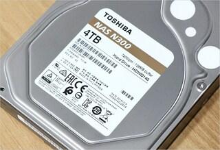 NAS용HDD 하드디스크 도시바 N300 4TB 사용기
