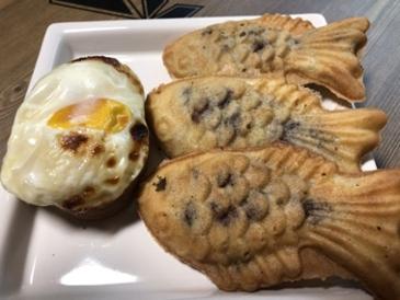 길거리 붕어빵 ,계란빵