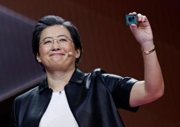 AMD CEO 리사 수 블룸버그 선정 올해를 빛낸 50인 목록에 오르다
