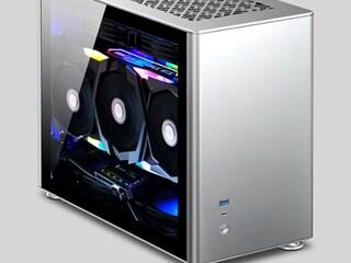 브라보텍, MINI-ITX 알루미늄 튜닝 케이스 'JONSBO A4 SILVER / BLACK' 출시