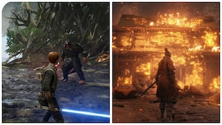 스타워즈 vs 세키로 VOL.3 (Star Wars Jedi: Fallen Order vs SHADOWS DIE TWICE)