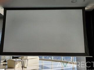 윤씨네 고급형 16:9 와이드 매립형 전동 스크린 SA-REH120 매립형 텐션 스크린 설치기