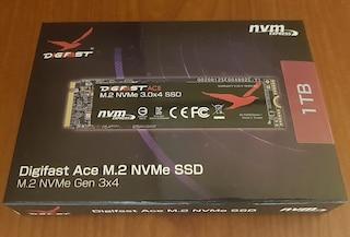 테스트용으로 DIGIFAST Ace M.2 NVMe 1TB SSD를 질렀네요