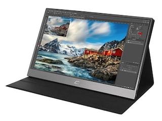 크로스오버존, 640g의 15.6형 포터블 모니터 '16TF5 DEX 멀티터치 포터블 HDR' 출시