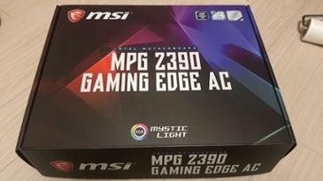 [MSI Z390 GAMING EDGE AC] 초보 컴린이 처음 사용후기 입니다.