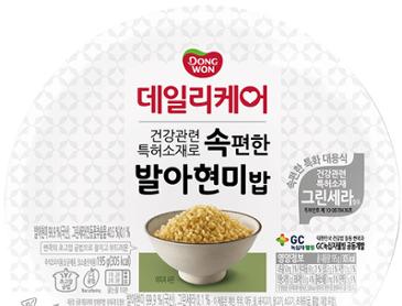 동원 데일리케어 속편한 발아현미밥(195g) 24개 = 19,425원[무배]