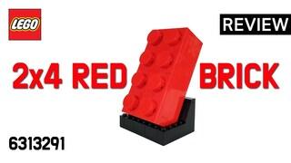 레고 프로모션 6313291 2x4 레드 브릭(Promotion 2x4 Red Brick)  조립 리뷰_Build Review_레고매니아_LEGO Mania