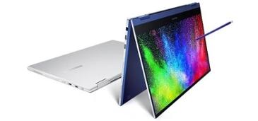 삼성, 세계최초 QLED 노트북 '갤럭시북 플렉스' 출시