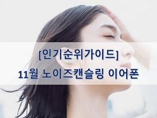 [인기순위가이드] 노이즈캔슬링 이어폰 BEST 5