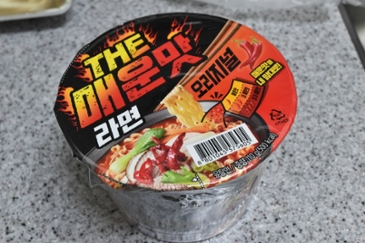 THE 매운맛 라면 오리지널