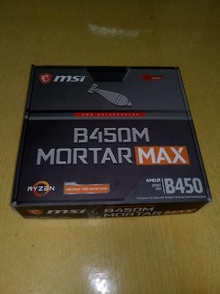 MSI MAG B450M 박격포 맥스(Mortar Max) 사용기