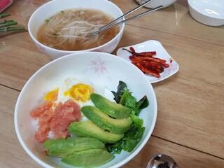 간단히 해먹기 좋은 비빔밥&쌀국수