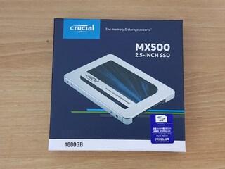 마이크론 Crucial MX500 대원CTS 1TB 구매기