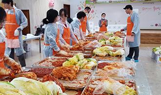 다나와 2015 김장 나눔 활동