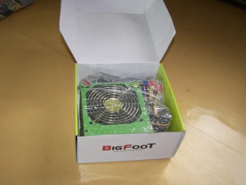 빅빔 BIGFOOT H450G V2.2  상자 개봉상태