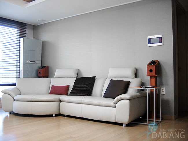 미라지 옴니 350 5.1채널 스피커와 야마하 RX-V467 AV리시버의 홈 ...